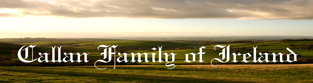 Callan Family of Ireland